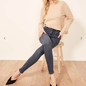 Reformation HIgh & Skinny Jean size 28 NWT